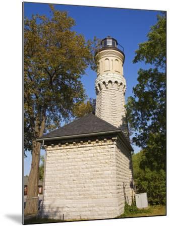 Niagara Lighthouse, Old Fort Niagara State Park, Youngstown, New York State, USA-Richard Cummins-Mounted Photographic Print