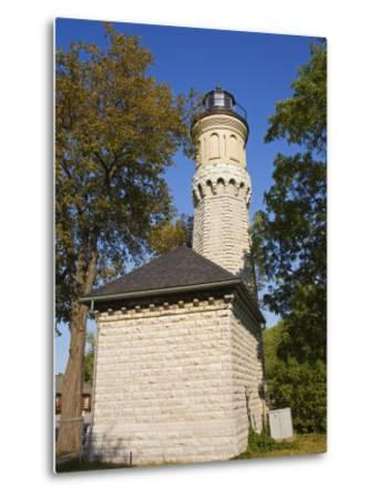 Niagara Lighthouse, Old Fort Niagara State Park, Youngstown, New York State, USA-Richard Cummins-Metal Print