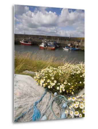 Helvick Head Pier, County Waterford, Munster, Republic of Ireland, Europe-Richard Cummins-Metal Print