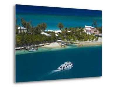 House on Paradise Island, Nassau, New Providence Island, Bahamas, West Indies, Central America-Richard Cummins-Metal Print