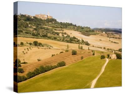 Pienza, Val D'Orcia, Tuscany, Italy, Europe-Marco Cristofori-Stretched Canvas Print