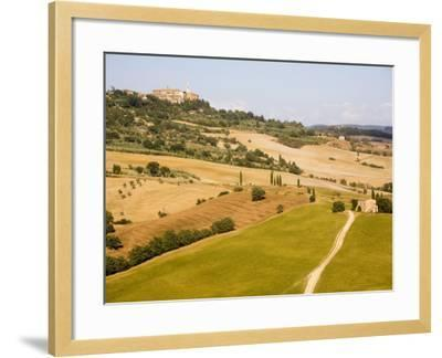 Pienza, Val D'Orcia, Tuscany, Italy, Europe-Marco Cristofori-Framed Photographic Print