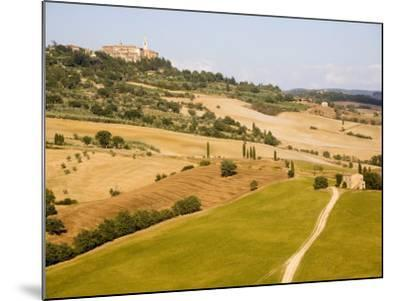 Pienza, Val D'Orcia, Tuscany, Italy, Europe-Marco Cristofori-Mounted Photographic Print