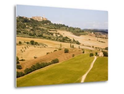 Pienza, Val D'Orcia, Tuscany, Italy, Europe-Marco Cristofori-Metal Print