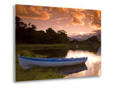 Boat, Upper Lake, Killarney National Park, County Kerry, Munster, Republic of Ireland, Europe-Richard Cummins-Metal Print