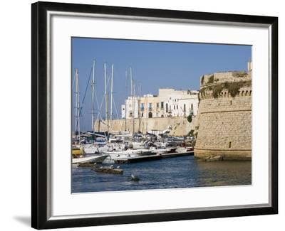 Castle, Gallipoli, Lecce Province, Puglia, Italy, Europe-Marco Cristofori-Framed Photographic Print