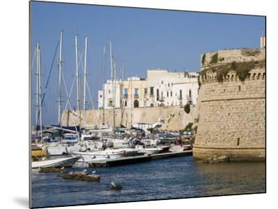 Castle, Gallipoli, Lecce Province, Puglia, Italy, Europe-Marco Cristofori-Mounted Photographic Print