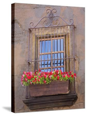 Window Detail, Ensenada City, Baja California, Mexico, North America-Richard Cummins-Stretched Canvas Print