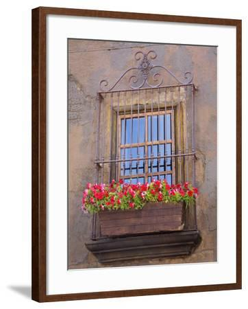 Window Detail, Ensenada City, Baja California, Mexico, North America-Richard Cummins-Framed Photographic Print