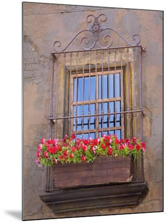 Window Detail, Ensenada City, Baja California, Mexico, North America-Richard Cummins-Mounted Photographic Print