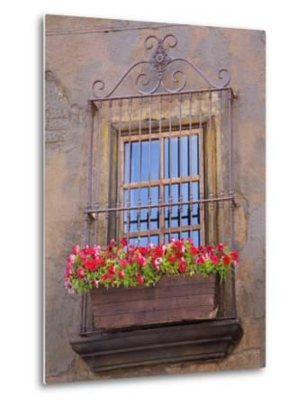 Window Detail, Ensenada City, Baja California, Mexico, North America-Richard Cummins-Metal Print