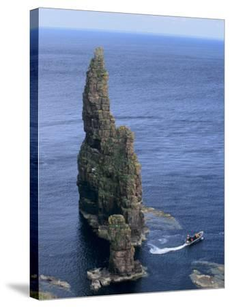 Duncansby Head, Caithness, Highland Region, Scotland, United Kingdom, Europe-Patrick Dieudonne-Stretched Canvas Print
