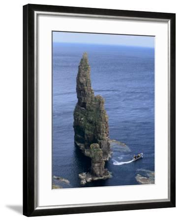 Duncansby Head, Caithness, Highland Region, Scotland, United Kingdom, Europe-Patrick Dieudonne-Framed Photographic Print
