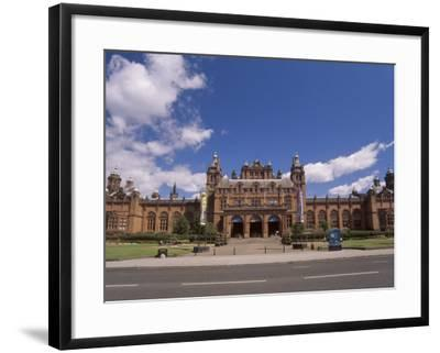 Kelvingrove Art Gallery and Museum Dating from the 19th Century, Glasgow, Scotland, United Kingdom-Patrick Dieudonne-Framed Photographic Print