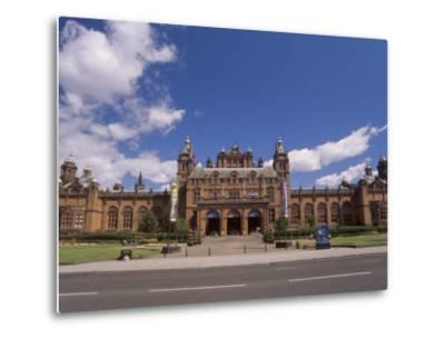 Kelvingrove Art Gallery and Museum Dating from the 19th Century, Glasgow, Scotland, United Kingdom-Patrick Dieudonne-Metal Print