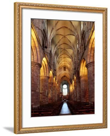 Interior of St. Magnus Cathedral, Kirkwall, Mainland, Orkney Islands, Scotland, UK-Patrick Dieudonne-Framed Photographic Print