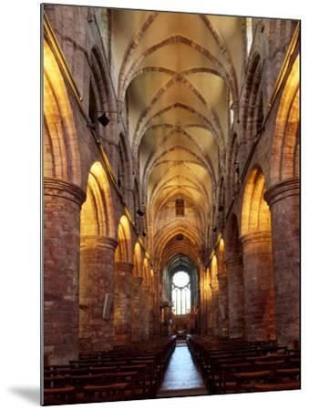 Interior of St. Magnus Cathedral, Kirkwall, Mainland, Orkney Islands, Scotland, UK-Patrick Dieudonne-Mounted Photographic Print