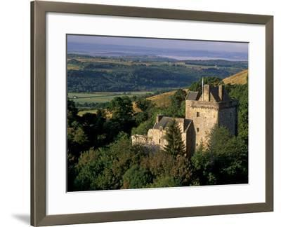 Castle Campbell, 15th Century, at Head of Dollar Glen, Dollar, Clackmannanshire, Scotland, UK-Patrick Dieudonne-Framed Photographic Print