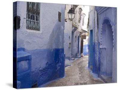 Chefchaouen, Near the Rif Mountains, Morocco, North Africa, Africa-Ethel Davies-Stretched Canvas Print