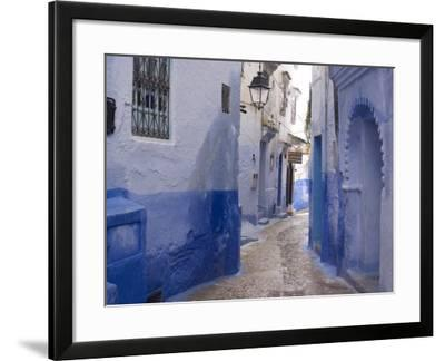 Chefchaouen, Near the Rif Mountains, Morocco, North Africa, Africa-Ethel Davies-Framed Photographic Print
