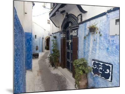 Route in the Kasbah, Rabat, Morocco, North Africa, Africa-Ethel Davies-Mounted Photographic Print