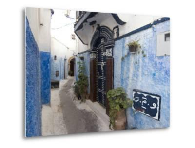 Route in the Kasbah, Rabat, Morocco, North Africa, Africa-Ethel Davies-Metal Print