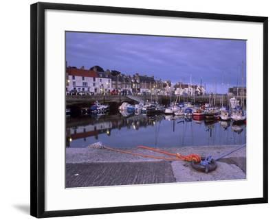 Findochty Harbour, Morayshire, Scotland, United Kingdom, Europe-Patrick Dieudonne-Framed Photographic Print