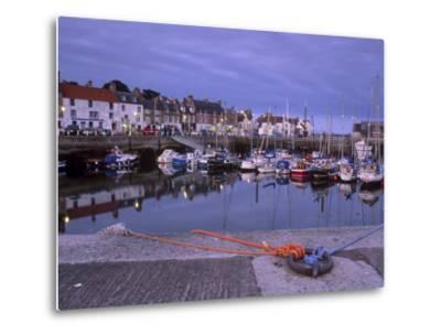 Findochty Harbour, Morayshire, Scotland, United Kingdom, Europe-Patrick Dieudonne-Metal Print