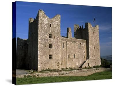 Bolton Castle, Where Mary Stuart Was Imprisoned, Wensleydale, Yorkshire Dales N. Park, England-Patrick Dieudonne-Stretched Canvas Print