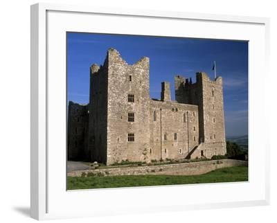 Bolton Castle, Where Mary Stuart Was Imprisoned, Wensleydale, Yorkshire Dales N. Park, England-Patrick Dieudonne-Framed Photographic Print