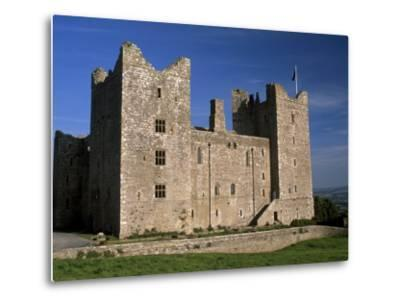 Bolton Castle, Where Mary Stuart Was Imprisoned, Wensleydale, Yorkshire Dales N. Park, England-Patrick Dieudonne-Metal Print