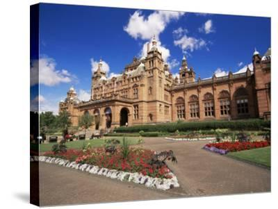 Kelvingrove Art Gallery, Dating from the 19th Century, Glasgow, Scotland, United Kingdom, Europe-Patrick Dieudonne-Stretched Canvas Print