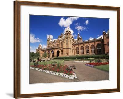 Kelvingrove Art Gallery, Dating from the 19th Century, Glasgow, Scotland, United Kingdom, Europe-Patrick Dieudonne-Framed Photographic Print