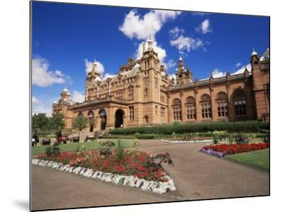 Kelvingrove Art Gallery, Dating from the 19th Century, Glasgow, Scotland, United Kingdom, Europe-Patrick Dieudonne-Mounted Photographic Print