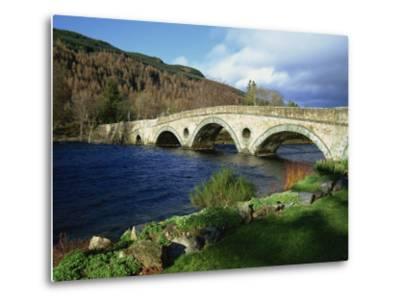 Bridges, Kenmore, Loch Tay, Scotland, United Kingdom, Europe-Ethel Davies-Metal Print