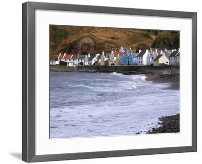 Small Fishing Village of Pennan, North Coast, Aberdeenshire, Scotland, UK-Patrick Dieudonne-Framed Photographic Print