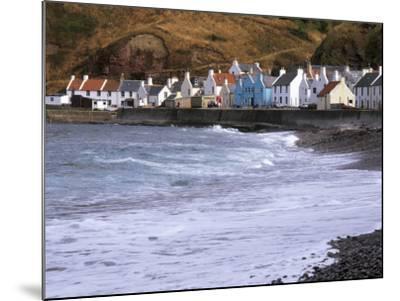 Small Fishing Village of Pennan, North Coast, Aberdeenshire, Scotland, UK-Patrick Dieudonne-Mounted Photographic Print