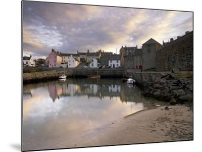 Old Harbour Dating from the 17th Century, of Portsoy at Sunset, Near Banff, Aberdeenshire, Scotland-Patrick Dieudonne-Mounted Photographic Print