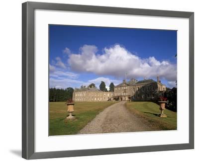 Haddo House, Elegant Country House, Georgian Exterior, Near Tarves, Aberdeenshire, Scotland, UK-Patrick Dieudonne-Framed Photographic Print