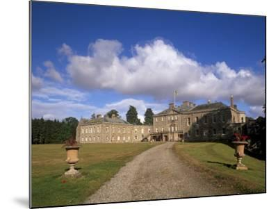 Haddo House, Elegant Country House, Georgian Exterior, Near Tarves, Aberdeenshire, Scotland, UK-Patrick Dieudonne-Mounted Photographic Print