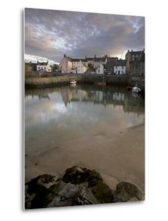 Old Harbour Dating from the 17th Century, of Portsoy at Sunset, Near Banff, Aberdeenshire, Scotland-Patrick Dieudonne-Metal Print