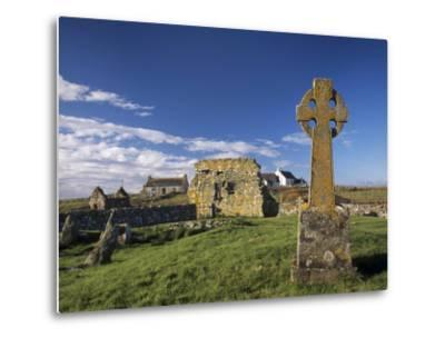 Medieval Burial Ground and Chapels, at Howmore, South Uist, Outer Hebrides, Scotland-Patrick Dieudonne-Metal Print