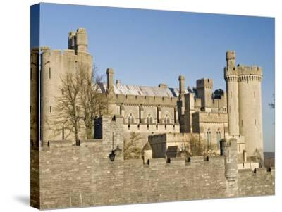 Arundel Castle, Arundel, West Sussex, England, UK-James Emmerson-Stretched Canvas Print