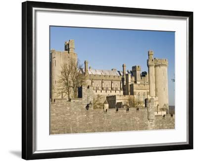 Arundel Castle, Arundel, West Sussex, England, UK-James Emmerson-Framed Photographic Print