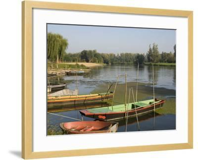 Punts in the Loire Valley, France, Europe-James Emmerson-Framed Photographic Print