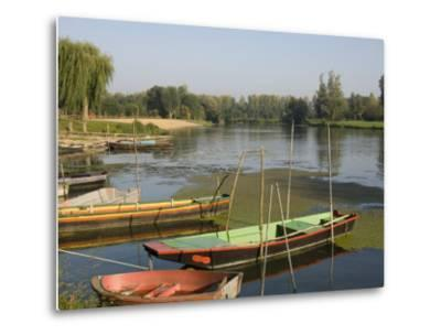 Punts in the Loire Valley, France, Europe-James Emmerson-Metal Print