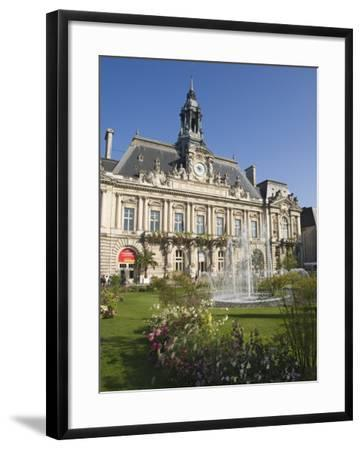 Town Hall in the City of Tours, Indre Et Loire, Loire Valley, Centre, France, Europe-James Emmerson-Framed Photographic Print