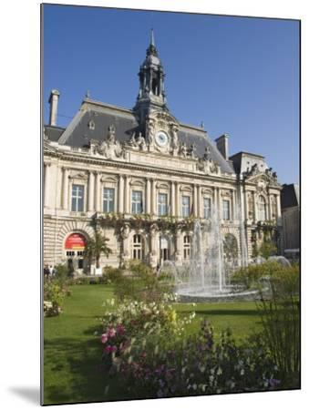 Town Hall in the City of Tours, Indre Et Loire, Loire Valley, Centre, France, Europe-James Emmerson-Mounted Photographic Print