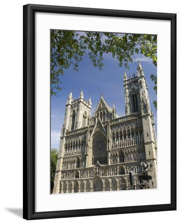 Facade of the Nidarosdomen Og Cathedral, Trondheim, Norway, Scandinavia, Europe-James Emmerson-Framed Photographic Print