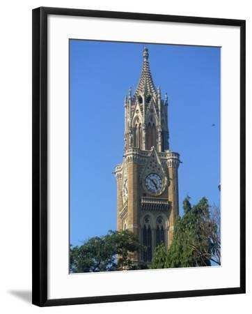 University Clock Tower, Mumbai, India-Ken Gillham-Framed Photographic Print